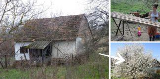 Svojpomocná rekonštrukcia domu na útulnú víkendovú chalúpku s 40 m²