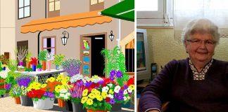 Maľby v skicári | 87-ročná babka Concha Garcia Zaera maľuje v MS Paint
