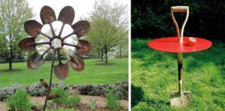 Ako využiť staré lopaty a rýle | Kreatívne nápady do záhrady a domácnosti