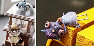 Ručne modelované zvieratká z polymérovej hmoty | Anna Nazarenko