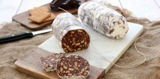 Čokoládová saláma | Recept na nepečenú čokoládovú salámu