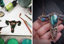 Šperky v tvare maternice patria medzi najmodernejšie kúsky súčasnosti