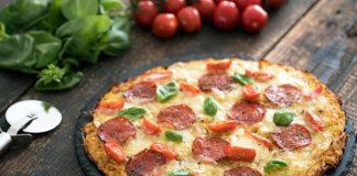 Pizza zo zemiakového cesta bez použitia múky | Bezlepkový recept