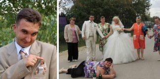 Svadobné fotky z Ruska | 20 najhorších svadobných fotografií