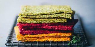 Brokolicová chlebová placka alebo mrkvová a cviklová | Zdravé recepty