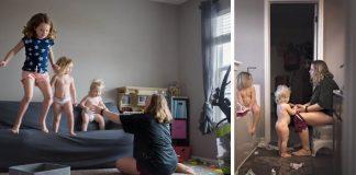 Úprimné fotografie ukazujú, že byť matkou je náročná, no úžasná vec