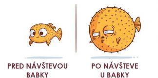 """Roztomilé a vtipné """"pred a po"""" ilustrácie každodenného života Naolito"""