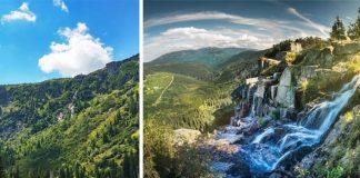 Pančavský vodopád je pýchou Národného parku Krkonoše