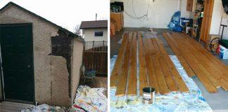 Premena starej kôlne na záhrade | Zo starej kôlne, pýcha celej záhrady