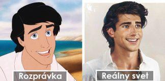 Disneyho rozprávkové postavy prekresľuje do realistickej podoby