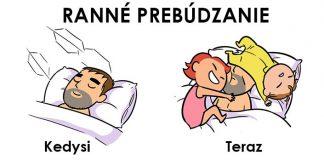 Tieto zábavné ilustrácie vám ukážu, ako sa muž zmení po narodení detí