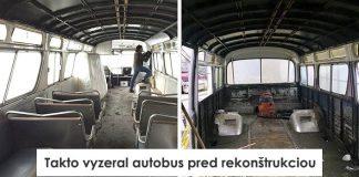 Prerábka starého autobusu po 3 rokoch na útulný byt na kolesách