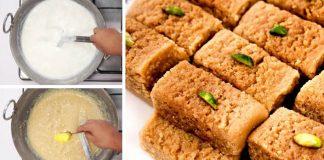 Tradičná indická mliečna cukrovinka Kalakand Barfi | Recept