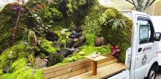 Mobilné záhradky | Súťaž o najkrajšiu záhradku na nákladnom vozidle