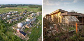 Aardehuizen: Ekologická dedina z recyklovaných materiálov | Holandsko