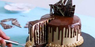 Čokoládová vertikálna torta | Recept na dezert, ktorý si zamilujte!