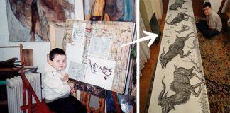 Dušan Krtolica má iba 15 rokov, no jeho kresby vyzerajú ako práca skúseného umelca!