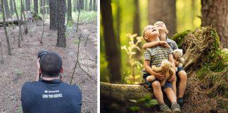 Fotograf dokazuje, že na peknú fotku nie je nutné mať krásne prostredie!