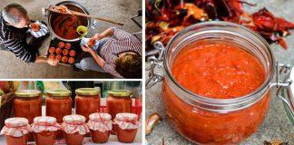 Ajvar podľa tradičného balkánskeho receptu | Recept na domáci ajvar