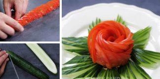Ako naporcovať ovocie a zeleninu | 25 kreatívnych nápadov