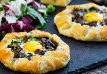 Galette s hubami a vajíčkami | Tradičná francúzska pochúťka na každú príležitosť