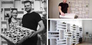 Krabice od pizze, z ktorých si poskladáte nábytok | Ekologická nápad od Modoo