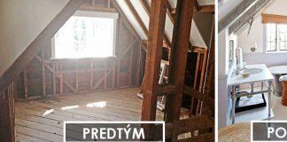 Premeny bývania | 25 krásnych pred a po renovácií izieb #1