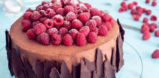 Čokoládovo-malinová torta | Recept na elegantný dezert pre čokoholikov