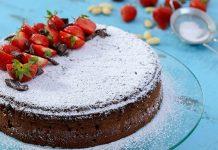 Torta Caprese | Recept na taliansky čokoládovo-mandľový zákusok