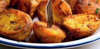 Pečené zemiaky, zvonku dokonalé chrumkavé, vnútri jemne nadýchané!