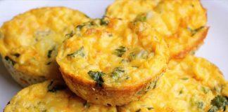 Recept na vajíčkové muffiny | Najjednoduchší zeleninový quiche