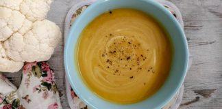 Karí karfiolová polievka | Recept, ako si pripraviť krémovú polievku