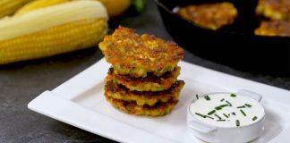 Lievance s grilovanou kukuricou | Recept na lievance na slano