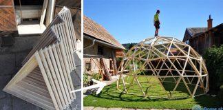 Drevené kupoly geodómy - stavby, ktoé majú desiatky využití | Agi Gonda