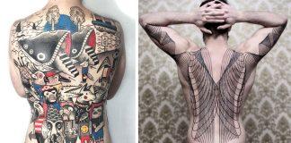 Tetovania na chrbát | 10+ nápadov, ktoré originálne pokrývajú chrbát