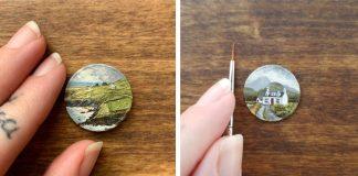 Maľby na minciach | Bryanna Marie tvorí detailné olejomaľby na minciach