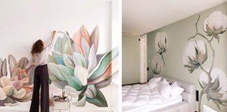 Ručne maľované steny pomáhajú izbám rozkvitnúť do krásy | Lilit Sarkisian