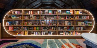 Detská knižnica vytvorená z nevyužívaných priestoroch mezanínu | MKCA