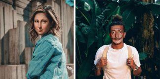 Ikonické postavy z malieb a svetoznámi maliari v dnešnom svete | Tiago