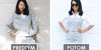 Upcyklované oblečenie | Ako mení staré neforemné kúsky Sarah Tyau