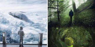 Surrealistické snové fotky | Digitalné umenie od Murat Akyol
