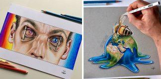 Problémy súčasnej spoločnosti na ilustráciách | Umelec Sam Bailey