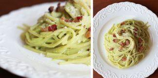 Avokádové carbonara | Recept na špagety carbonara s avokádom