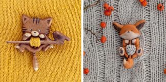 Drevené brošne | Dvojdielne brošne z dreva ozvláštnia nie jeden sveter