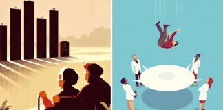 Ilustrácie na zamyslenie | Kreslené metafory umelca Joey Guidone