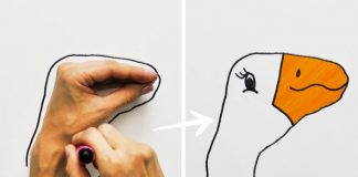 Kreslenie zvieratiek podľa ruky | Učíme deti ako kresliť obkresľovaním rúk