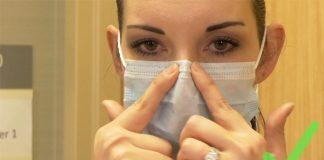 Ako nosiť rúško | Návod, ako správne nasadiť a nosiť ochranné rúško