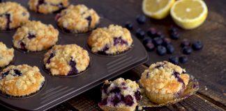 Čučoriedkové muffiny, ktoré sú krehké a jemné ako pavučinka | Recept