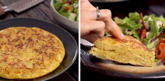 Zemiaková omeleta | Recept na španielsku omeletu Tortilla de Patatas