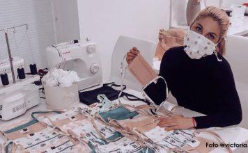 Šité rúška | Nedostatok rúšok riešia šikovní Slováci vlastnoručnou výrobou